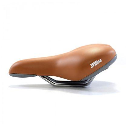 Selle comfort gel STRIDA (marron) - 501-bw - Selle - strida