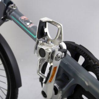 Silberfarbene Alu Pedale, klappbar - Fahrradpedal - Klapppedale - Pedale - ST-PDS-001