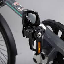 Zwarte aluminium STRIDA vouwpedalen - pedalen - ST-PDS-002 - trappers - vouwpedalen