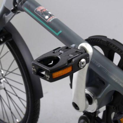 La paire de pédales pliante aluminium (noir) - des pédales - Pédales - Pédales de vélo - ST-PDS-002