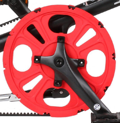 STRIDA Chainwheel 5 / LT / SX / S30X, red - 127-rd - Chainwheel - red - strida