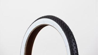 STRIDA buitenband 16 inch: 16×1.50 met witte rand - 16 inch - 453-7-white - buitenband - strida