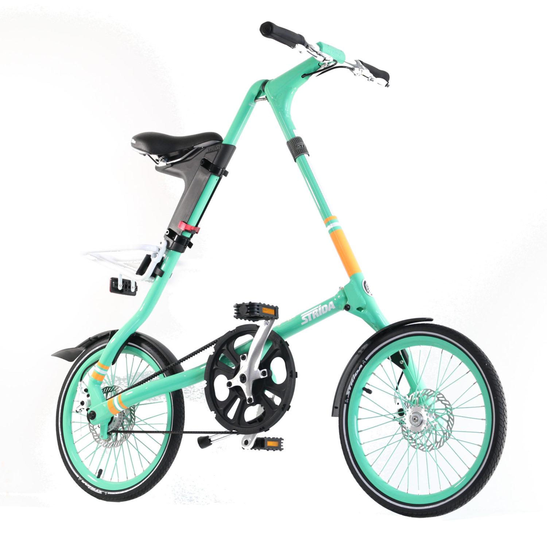 STRIDA SX Pristine Mint - 18 Zoll - Design Fahrrad - Design Faltrad - dreieckig - dreieckiges - Dreieckiges Faltrad - Eingang - einzigartiges Faltrad - Fahrrad - Faltbares Fahrrad - Faltbares Fahrrad kaufen - Faltbares Fahrräder kaufen - Faltrad - Faltrad-Shop - Falträder - Falträder kaufen - Geschäft - Kaufen - Klapprad - Klapprad kaufen - Leicht - neu - strida - Strida design Faltrad - sx - zu verkaufen - zusammenklappbares Fahrrad