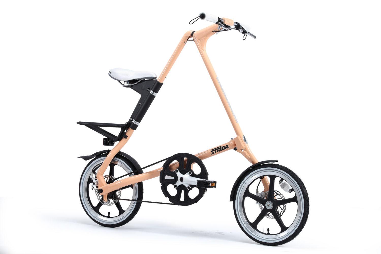STRIDA LT Sweet Melon - 1 versnelling - 18 inch - design fiets - design vouwfiets - driehoekig - driehoekige - driehoekige vouwfiets - fiets - kopen - lichtgewicht - lt - nieuw - opvouwbare fiets - Plooibare fiets - Plooifiets - plooifiets kopen - plooifietsen kopen - strida - strida design vouwfiets - te koop - unieke vouwfiets - vouwfiets - vouwfiets kopen - vouwfietsen - vouwfietsen kopen - vouwfietsenwinkel - winkel