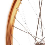 "Copper color Front 18"" STRIDA Rim Aluminium wheel - 18 inch - 448-18-spoke-copper-front - Wheel"