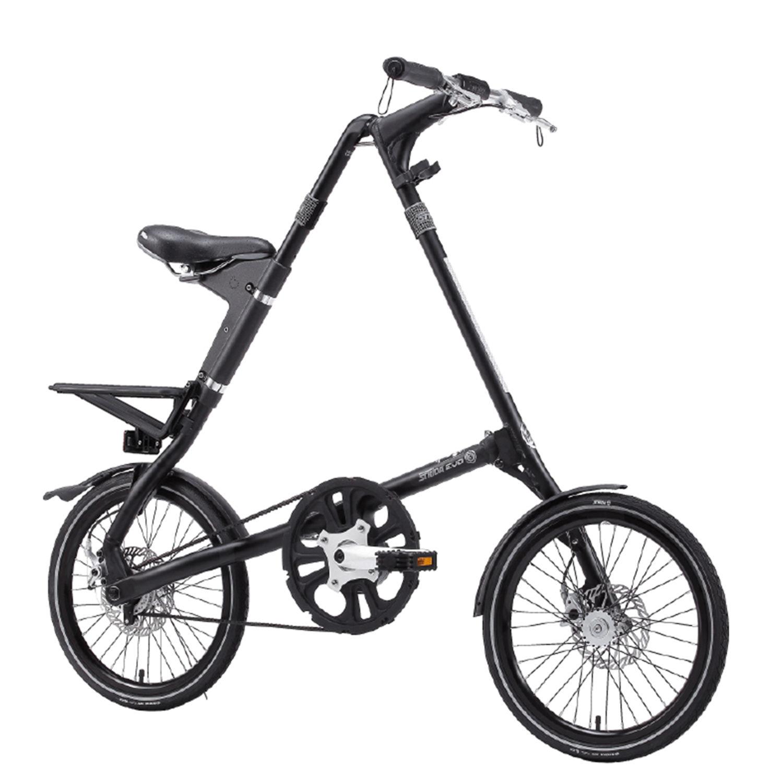 STRIDA Evo 3S Glossy Black - 18 inch - 3 versnellingen - design fiets - design vouwfiets - driehoekig - driehoekige - driehoekige vouwfiets - evo 3s - fiets - kopen - lichtgewicht - nieuw - opvouwbare fiets - Plooibare fiets - Plooifiets - plooifiets kopen - plooifietsen kopen - strida - strida design vouwfiets - Sturmey Archer - te koop - unieke vouwfiets - vouwfiets - vouwfiets kopen - vouwfietsen - vouwfietsen kopen - vouwfietsenwinkel - winkel