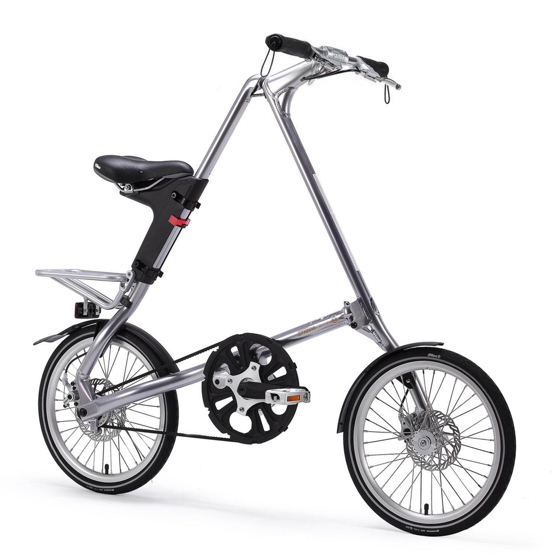 STRIDA Evo 3S Slick Silver - Design Fahrrad - Design Faltrad - Drei Gang - dreieckig - dreieckiges - Dreieckiges Faltrad - einzigartiges Faltrad - evo 3s - Fahrrad - Faltbares Fahrrad - Faltbares Fahrrad kaufen - Faltbares Fahrräder kaufen - Faltrad - Faltrad-Shop - Falträder - Falträder kaufen - Geschäft - Kaufen - Klapprad - Klapprad kaufen - Leicht - neu - strida - Strida design Faltrad - Sturmey archer - zu verkaufen - zusammenklappbares Fahrrad