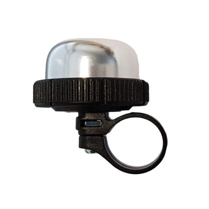 Silver STRIDA bike bell - Bicycle bell - Safety