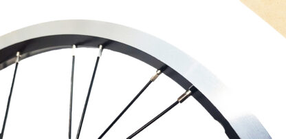 Rear 16-inch STRIDA Rim Black Aluminium wheel - 448-16-spoke-black-rear - Wheel - Wheels