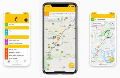 Beeline Navigation à vélo - Cartes et plans - navigation