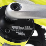 STRIDA EVO 3S Black Neon - 18 inch - bike - Buy foldable bikes - Buy folding bicycle - Buy folding bike - Buy folding bikes - buying - collapsible bike - Design bike - Design folding bike - evo 3s - foldable bike - Folding bicycle - Folding bike - Folding bike shop - Folding bikes - for sale - Lightweight - new - shop - strida - Strida design folding bike - Sturmey archer - Three speed - Triangular - Triangular folding bike - Triangular shaped - unique folding bike