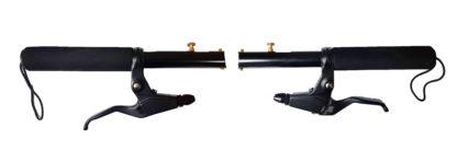 Zwarte EVA Stuur set - stuur - stuur-set - Stuurstangen