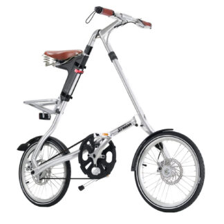 STRIDA EVO 3S Silver Brush - Silver details - 18 inch - bike - Buy foldable bikes - Buy folding bicycle - Buy folding bike - Buy folding bikes - buying - collapsible bike - Design bike - Design folding bike - evo 3s - foldable bike - Folding bicycle - Folding bike - Folding bike shop - Folding bikes - for sale - Lightweight - new - shop - strida - Strida design folding bike - Three speed - Triangular - Triangular folding bike - Triangular shaped - unique folding bike