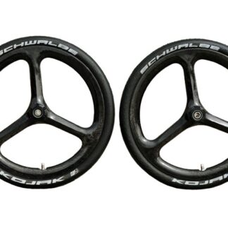 "18"" Carbon wheel set with Kojak tyres - carbon - Carbon wheels - Lightweight - ST-WS-007 - Wheel - Wheels"